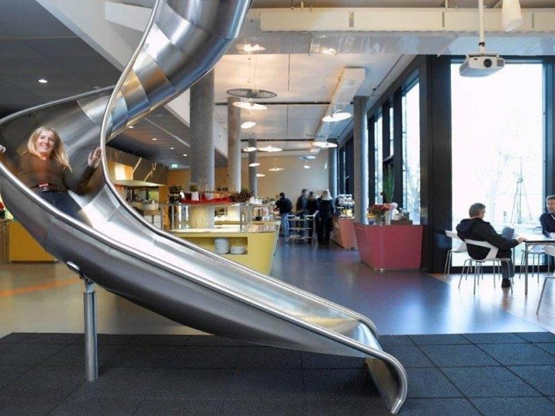 Herkesin Çalışmak İstediği Yer: Google Ofisleri 2