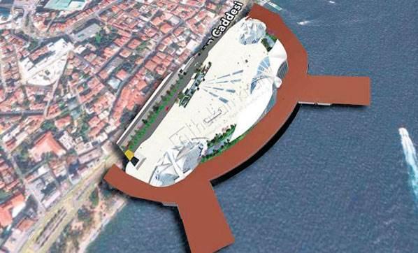Kabataş Deniz Terminali 2 Yılda Tamamlanacak