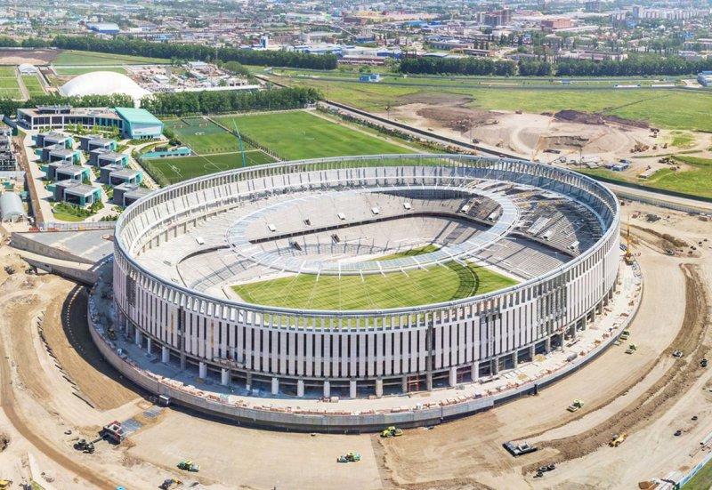 Türkler Dünyanın En Lüks Stadını İnşa Etti