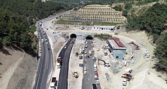 Sabuncubeli Tüneli Açıldı