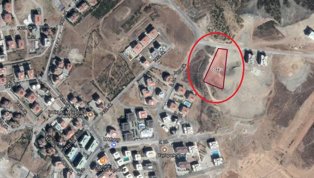 İzmir Defterdarlığı'ndan 36 Milyon TL'lik  Arsa Karşılığı İnşaat İhalesi