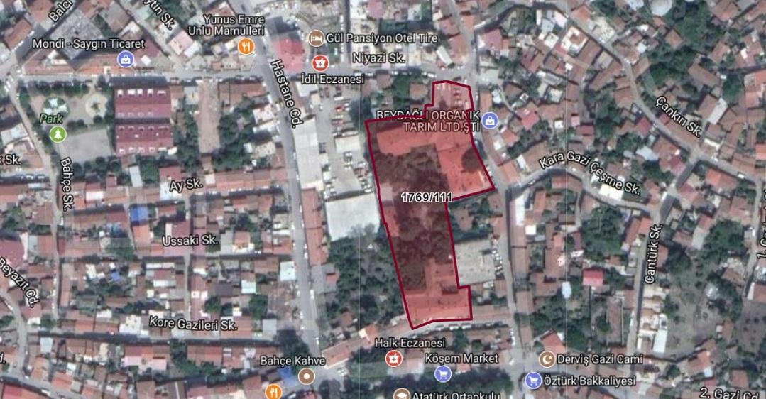 Özelleştirme İdaresi İzmir'de Eski Hastane Binası ve Arazisini Satışa Çıkardı
