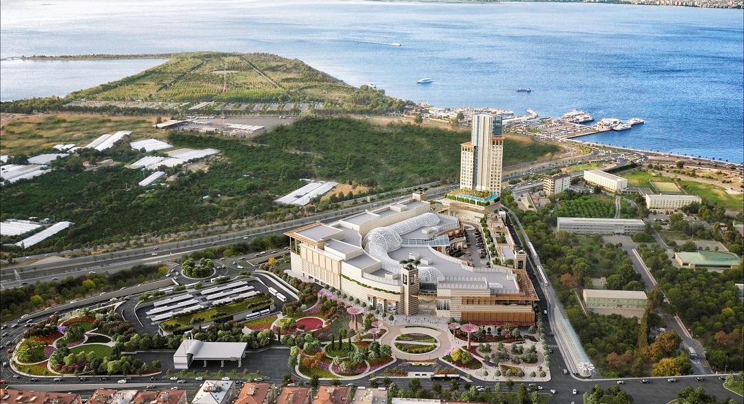 İzmir İstinye Park AVM ve Otel İnşaatında Son Durum