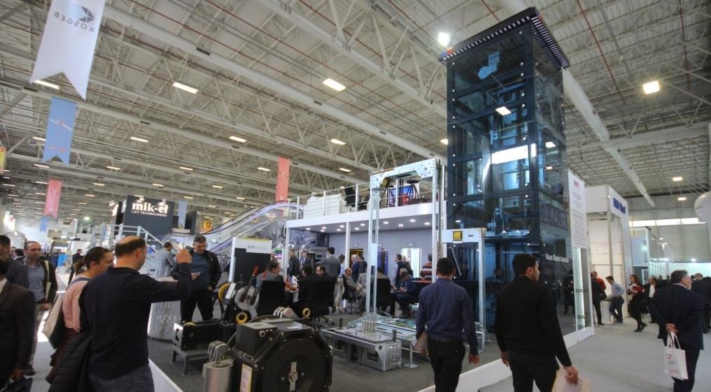 Dünya asansör sektörü İstanbul'da buluşacak!