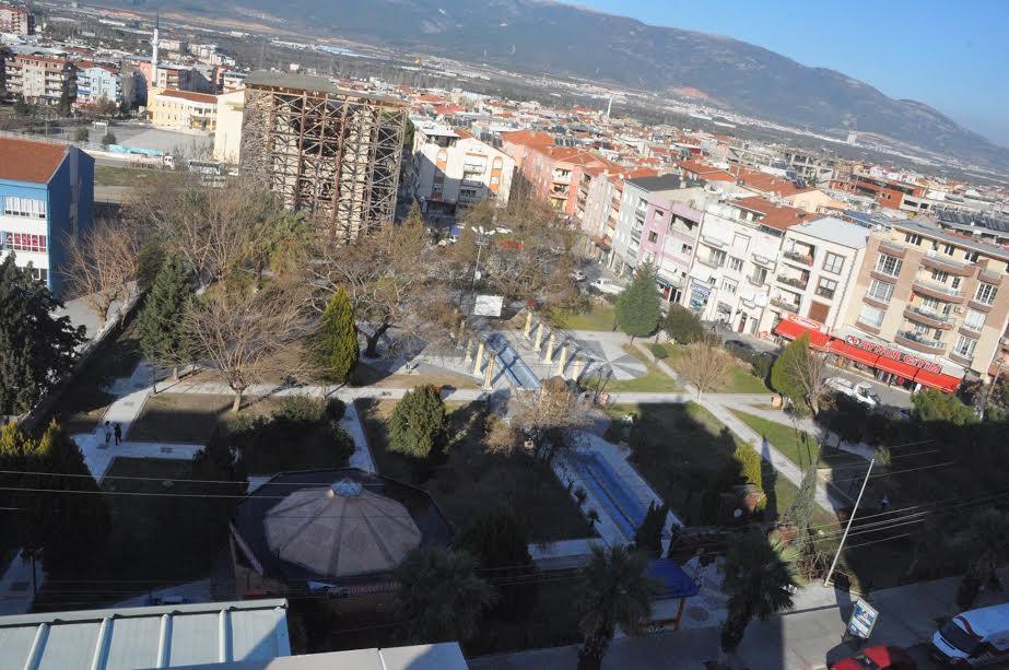 Osmanlı Parkı Yenileme Çalışmaları Başladı