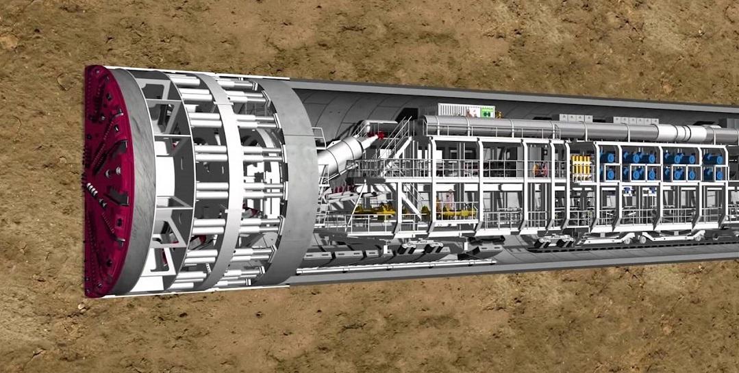 Narlıdere Metro Tünelleri Bu Araçla Kazılacak