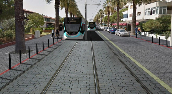 Çiğli Tramvay Projesinde Çalışmalar 2017'de Başlıyor