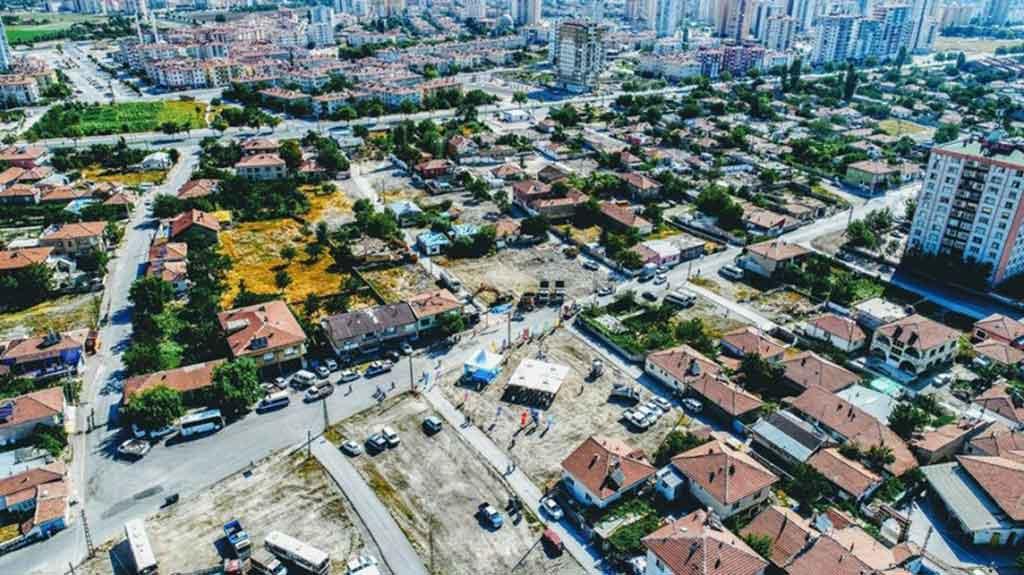 Kayseri Yunus Emre Mahallesinde Kentsel Dönüşüm Başlıyor