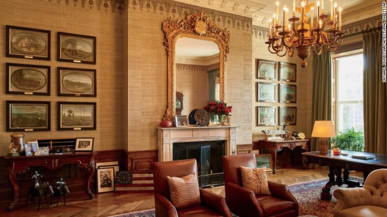 Obama'nın Beyaz Saray'da Yaşadığı Özel Oda