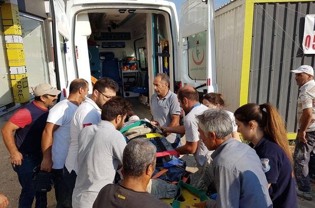 İzmir'de inşaat Çöktü: 1 Ölü