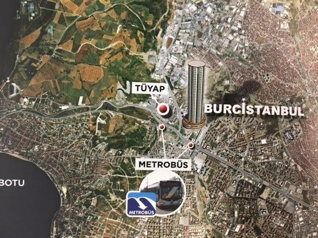 Beylikdüzü Burç İstanbul Metrekare Fiyatı 7 bin TL