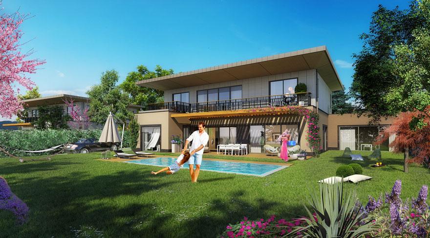 Yeşilyaka Villaları 2. ve 3. Etap Satışta