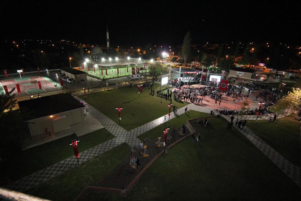 Bulgurca Meydanı Açıldı