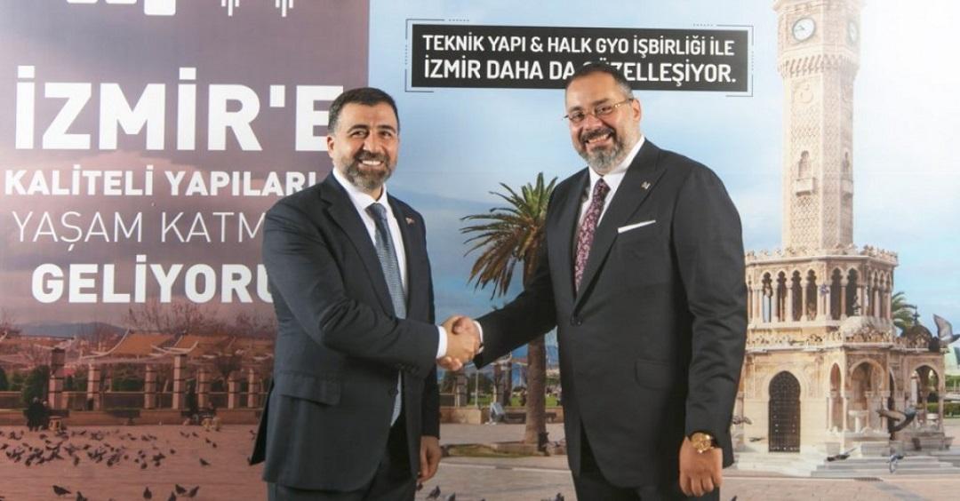 Teknik Yapı-Halk GYO İzmir projesi Ekim Sonunda Lansmana Çıkacak