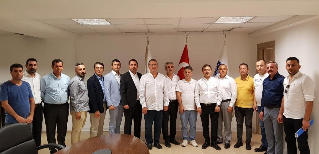 Müteahhitler Federasyonu Yeni Binasında İlk Toplantısını Yaptı