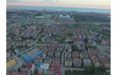 Samsun Tekkeköy'de Yeni İmar Yolları Yapılıyor!