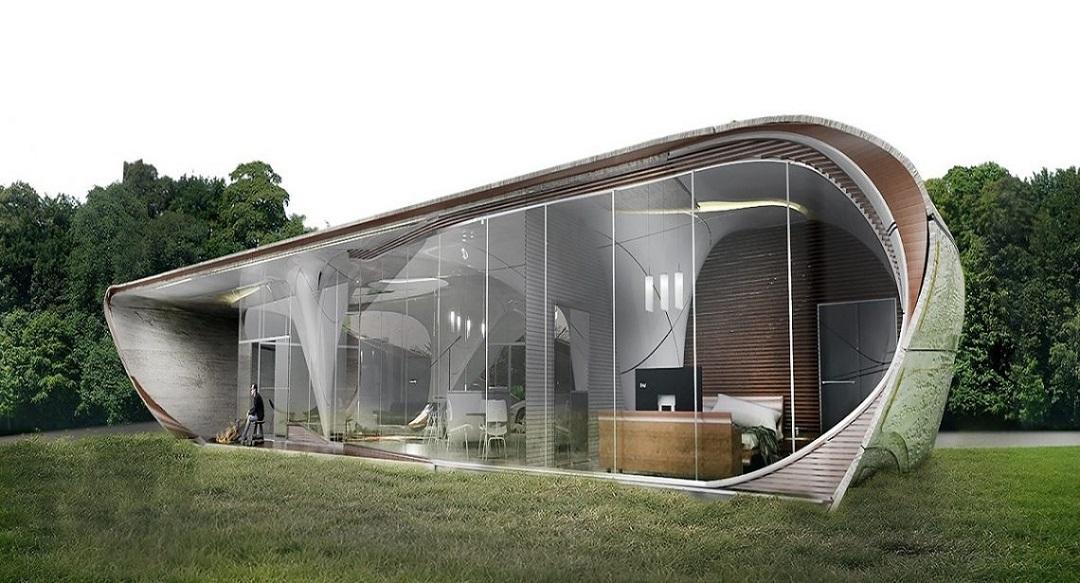 Dünyanın İlk Serbest Biçimli 3D Baskı Evi!