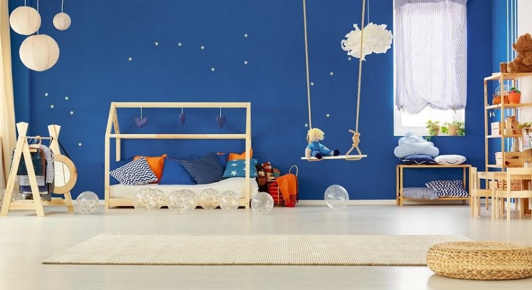Çocuk Odaları İçin İdeal Duvar Renkleri