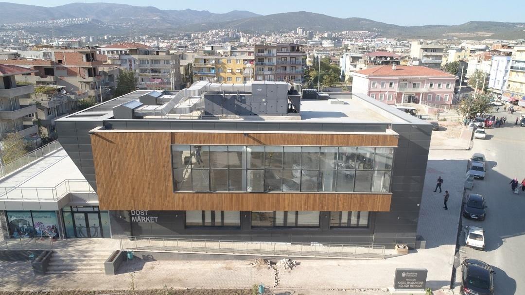 Doğanlar Kültür Merkezi İnşaatı Tamamlandı
