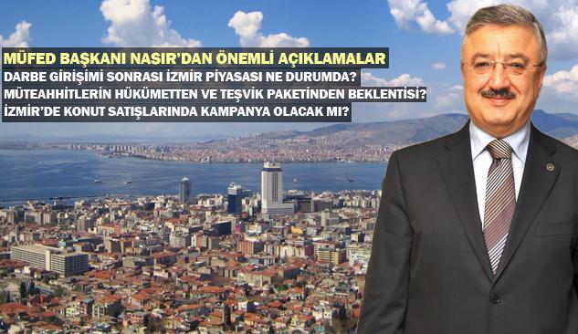 Darbe Girişiminden Sonra İzmir'de İnşaat Yatırımları Hız Kazandı
