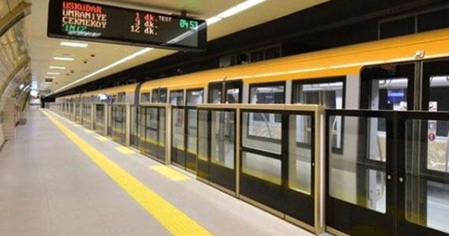 Üsküdar-Çekmeköy Metrosu Bu Ay Açılıyor