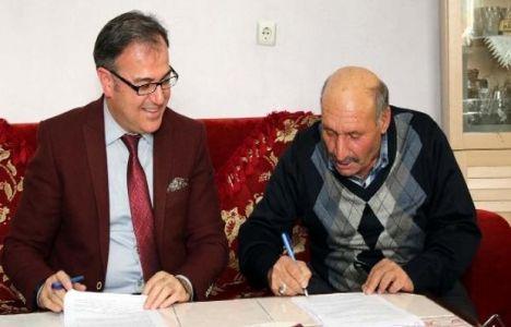 Kayseri Hacılar'da Kentsel Dönüşüm Sözleşmeleri İmzalandı