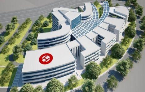 Muğla Eğitim ve Araştırma Hastanesi'nin yüzde 88'i Bitti
