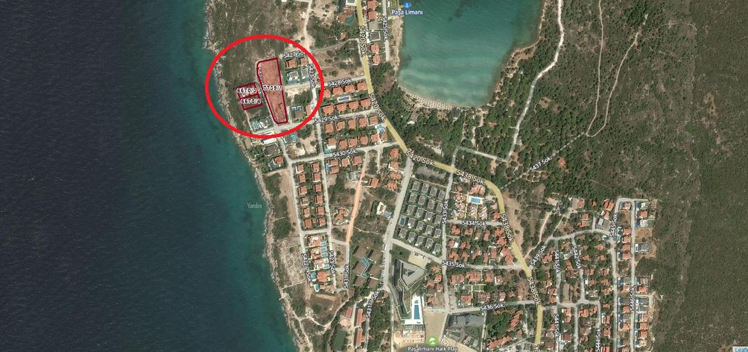 Çeşme'de Sit Alanından Çıkarılan 3 Arsaya Konut İmarı