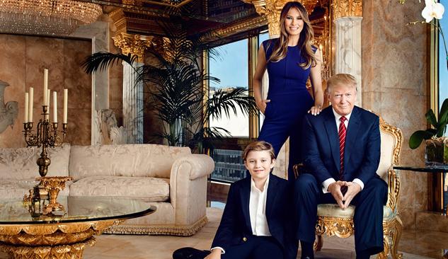 Donald Trump'un 100 Milyon Dolarlık Altın Kaplamalı Evi