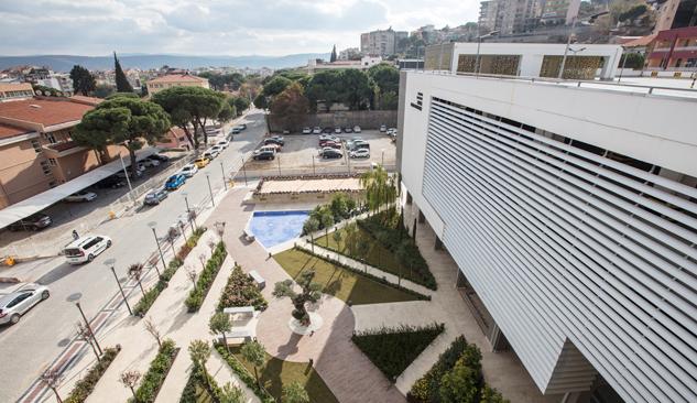Bergama'ya 350 Araçlık Modern Otopark