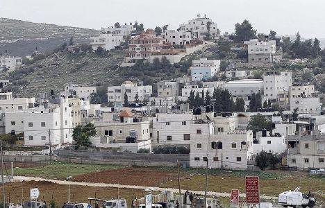 İsrail'in İnşa Ettiği Yerleşim Yerlerinin Sayısı Artıyor!