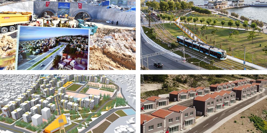 İzmir Büyükşehir 2018'de 2.5 Milyarlık Yatırım Yaptı