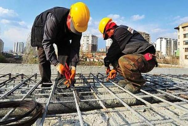 İnşaat Sektöründe 1 Milyon 730 Bin İşçi Çalışıyor