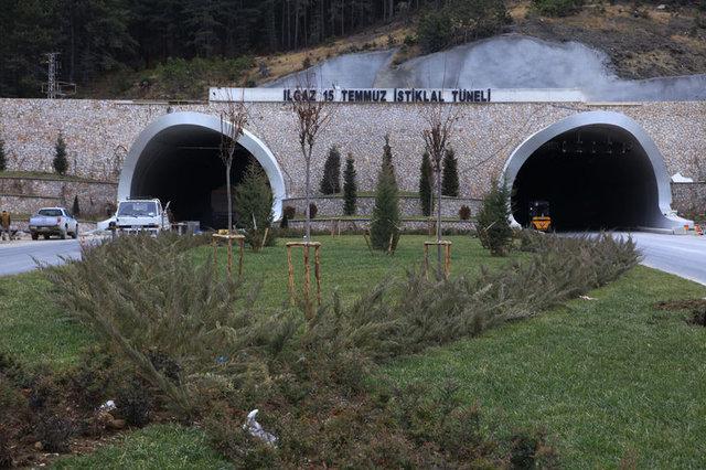 Ilgaz 15 Temmuz İstiklal Tüneli Yıl Sonunda Açılacak