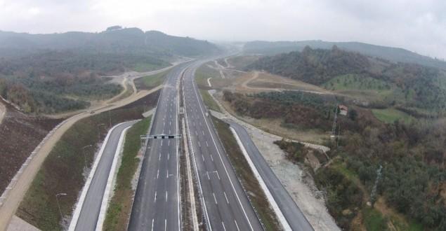 İzmir-İstanbul Otoyolunun Üçte İkisi Tamamlandı