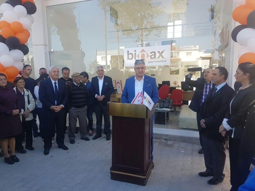Binax Gayrimenkul Kıbrıs Şubesini Açtı
