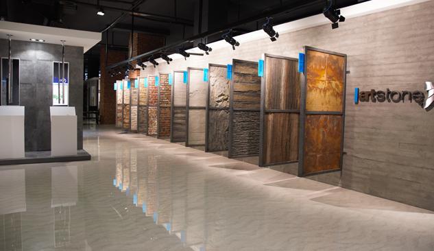 Türkiye'nin En Büyük Seramik Ve Cam Mozaik Showroom'u İzmir'de