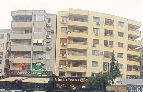 Bostanlı'daki 13 Eğik Binaya Çözüm Bulunamıyor!