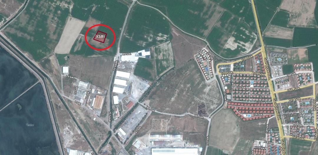 Sasalı'da 3 Milyon TL'ye İcradan Satılık Arsa