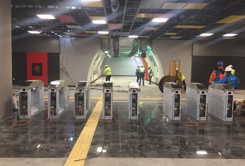 Mecidiyeköy-Mahmutbey Metro İstasyonları