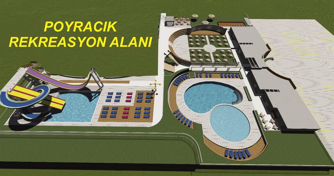 Kınık Belediye'sinden 3,3 Milyonluk Aqua Park ve Rekreasyon Alanı Projesi