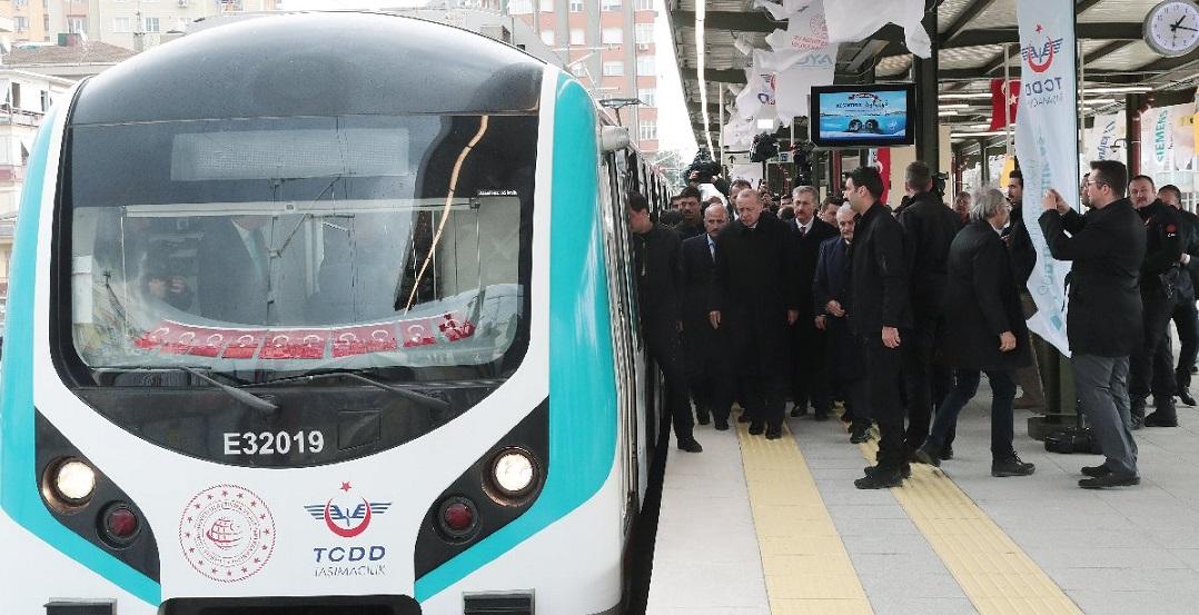 Gebze-Halkalı Tren Hattı Açıldı!