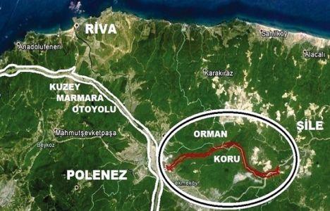 Kuzey Marmara Otoyolu Hüseyinli Şile İmar Planı Askıda!