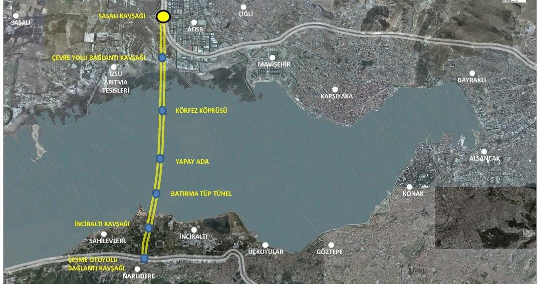 İzmir Körfez Geçiş Projesi 2023'e Kadar Açılacak