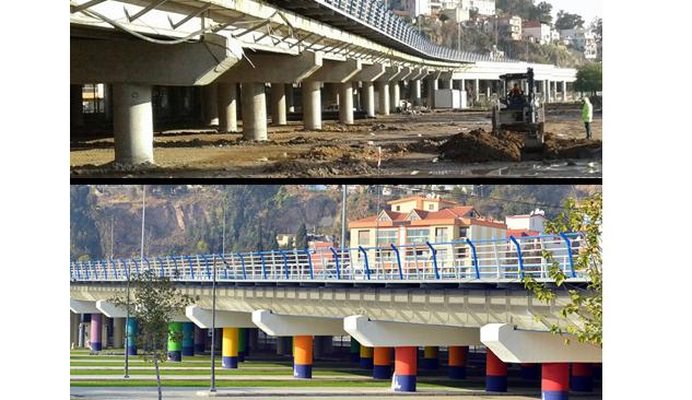 Köprüaltına 138 Araçlık Otopark