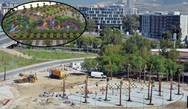 'Park İzmir' Projesinin Yüzde 50'si Tamamlandı