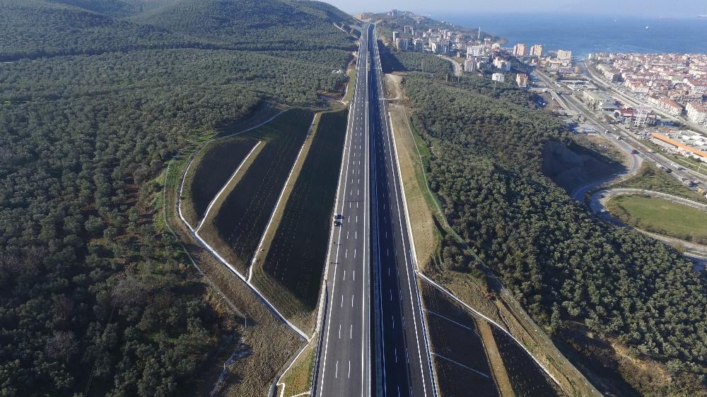 İstanbul-Bursa-İzmir Otobanı 28 Aralık'ta Açılıyor