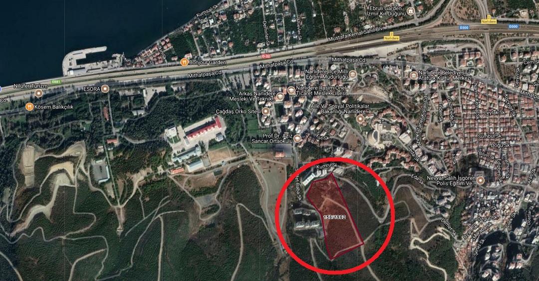 TOKİ'nin İzmir'deki Arsasında  10 Kat İmar Hakkı 5 Kata Düştü