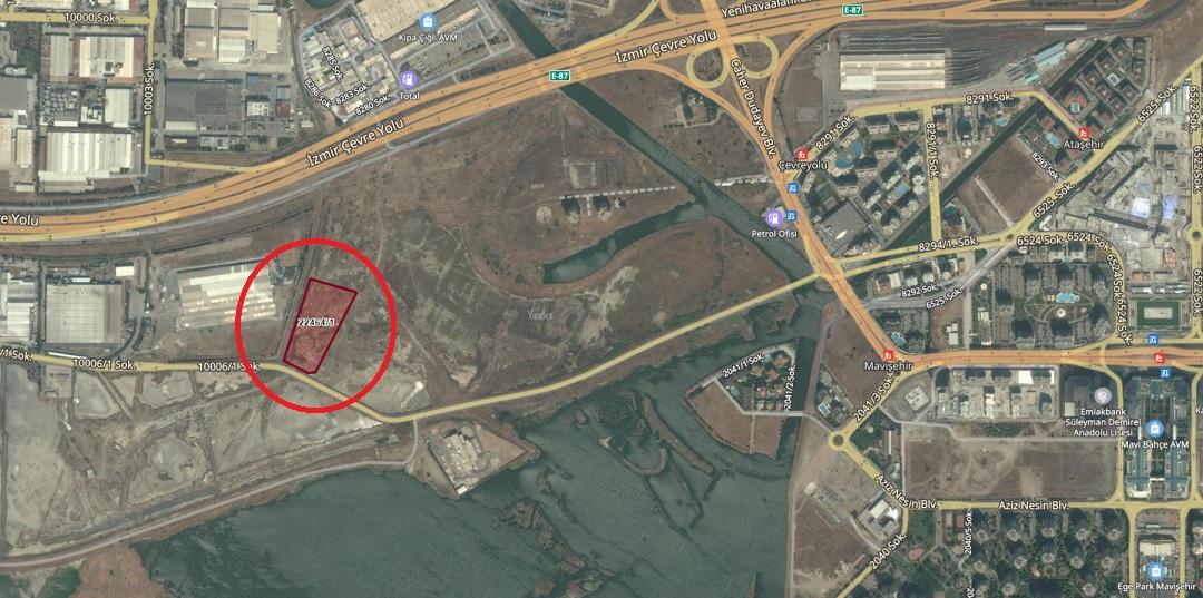 Çiğli'de 5.4 Milyon TL'ye İcradan Satılık Arsa