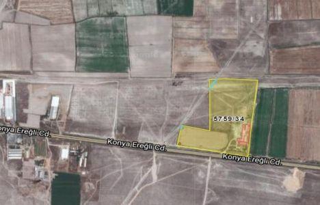 Konya'da 4 Milyon TL'ye İcradan Satılık Fabrika Ve Arsa!